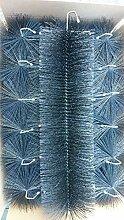 GLAMAT Filterbürsten SCHWARZ 80 cm Ø 150mm x 30