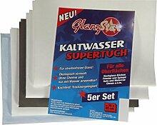 GLANZSTAR Kaltwasser Supertuch Streifenfrei