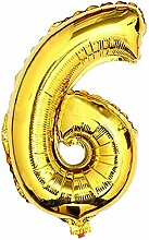 Glanzzeit 81,3cm Gold Folie Ballons Buchstaben A