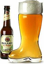 Glas Bier-Boot 2 Pint - 24.5cm - 1 Liter -