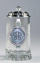 Glas-Bierseidel Optiker 1