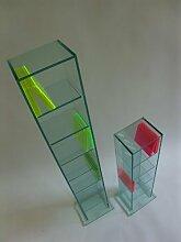 Glas CD & DVD Glas Regal NO. 5/7 Archivierung