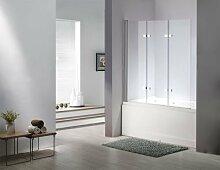 Glas Duschabtrennung SEATTLE Badewanne Faltwand