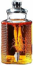 Glas-Getränkespender mit Leckagefreiem Zapfen,