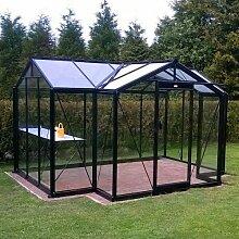 Glas-Gewächshaus Orangerie Marnie 10,26 m²