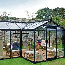 Glas-Gewächshaus Orangerie Melina 15,4 m²