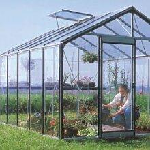 Glas-Gewächshaus R305 H-B-Expert-Plus 11,35 m²