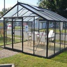 Glas-Gewächshaus R405 H-Expert-Retro 14,10 m²