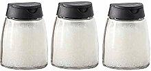 Glas Gewürzflasche Home Küche Gewürzbox Salz