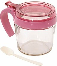 Glas Gewürzgläser, Portable Gewürzbehälter Mit