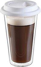 Glas Kaffee oder Tee trinken Gläser 4er Set