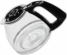 Glas-Kaffeekanne mit Deckel