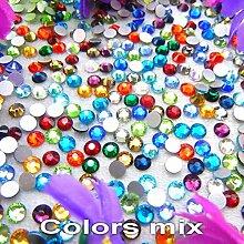 Glas Kristall 10 Größen SS3-SS30 Nonhotfix