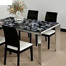 Glas,kristall-tisch-tuch/wasserdicht,transparent,weichglas,pvc tischset/einweg-tabelle pad tischdecke-A 90x10cm(35x4inch)