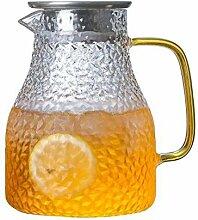 Glas Krug/Glasflaschen Kessel/Dickes Glasmaterial
