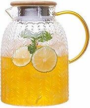 Glas Krug/Karaffen/Glasmaterial mit hohem