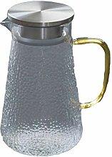 Glas Krug/Wasserkaraffe/Kapazität: 1200 ml