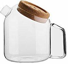 Glas Krug Wasserkrug Heißes Kaltes,Wasserkaraffe