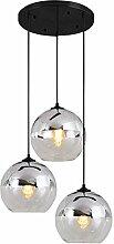 Glas Kugel Lampshade Kronleuchter Modern E27