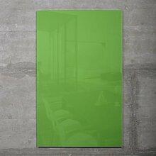 Glas Magnetboard MAX 50x30 cm grün inkl. 5