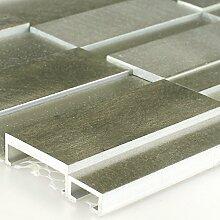 Glas Metall Mosaik Fliesen Schlamm Mix