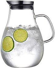 Glas mit Deckel und Anti-Verbrühungs-Griff Kann