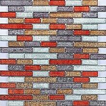 Glas Mosaik Fliesen 30cm x 30cm Matte kleine