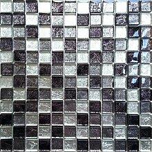 Glas Mosaik Fliesen Matte mit fernöstlicher
