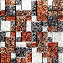 Glas Mosaik Fliesen Matte Steine in Drei Größen
