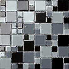 Glas Mosaik Fliesen Matte Steine in Zwei Größen