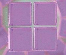 Glas-Mosaik-Steine 1,5 cm / 200g Lila Efco, 1x1cm,
