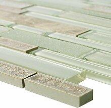 Glas Naturstein Keramik Mosaik Kozan Beige |
