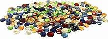 Glas Nuggets 1kg Mischfarben (230 Stück) Wohnkultur Aquarium Garten Kunsthandwerk