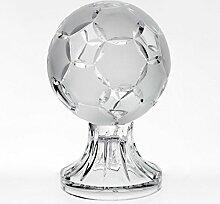 Glas Pokal Trophäe für Vitrine Fussball