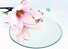 Glas Revolution Runder Spiegel 4 mm - Tischdeko|