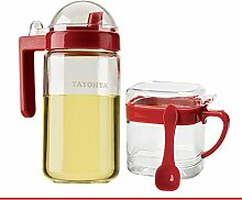 Glas-saison löschen,Fett Öl-und essig-flaschen