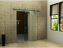 Glas-Schiebetür CLEAR in 90 x 205 cm