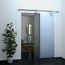 Glas-Schiebetür FROST in 102,5 x 205 cm