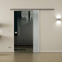 Glas-Schiebetür für den Innenbereich mit