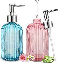 Glas Seifenspender für Küche, Bad, Nachfüllbare