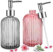 Glas Seifenspender für Küche, Bad,Nachfüllbare