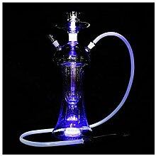 Glas-Shisha mit Licht, Shisha-Produkt-Set,