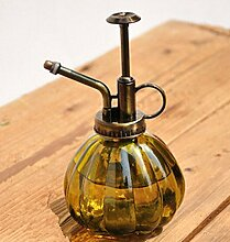 Glas Spray Flasche, Y & M (TM) 230ml Retro Glas Hand Druck Gießkanne Spray Flasche Garten Pflanze Bewässerung Werkzeug