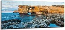 Glas Spritzschutz Cliff Nature mit hochwertiger