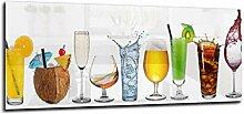 Glas Spritzschutz Glas Getränke mit hochwertiger