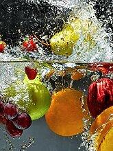 Glas-Spritzschutz Obstwasser mit hochwertiger