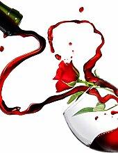 Glas Spritzschutz Rotweinglas mit hochwertiger