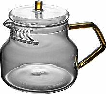 Glas Teebereiter Teekanne Glas Crescent-Filter