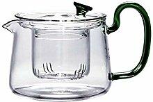 Glas Teebereiter Teekanne Glas Glasteekanne