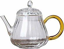 Glas Teebereiter Teekanne Glas Handgeheizter